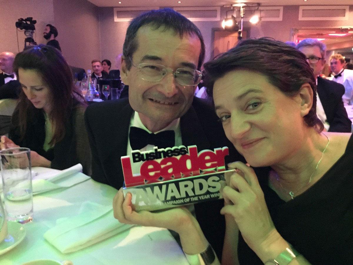 We're award winners! Siniat Bulldog wins Campaign of the Year