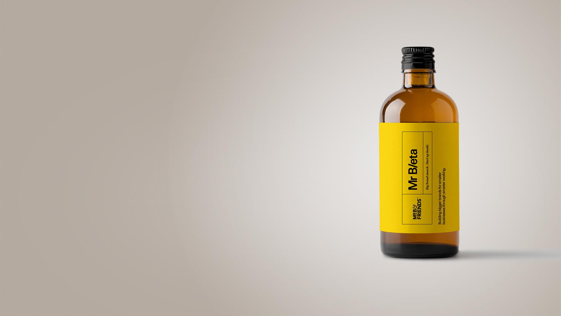 Brand accelerator programme glass bottle right